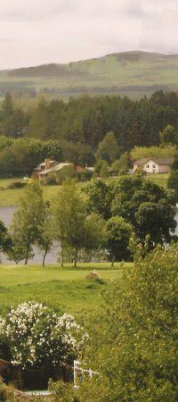 Halleaths Caravan and Camping Park, Lockerbie,Dumfries and Galloway,Scotland